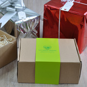 All my chocolatier & mug cake kits come packed in a hamper-style presentation box with gift wrap as an option.