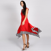 LAGOM Allegra Dress Red