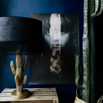 Fringed Lampshades
