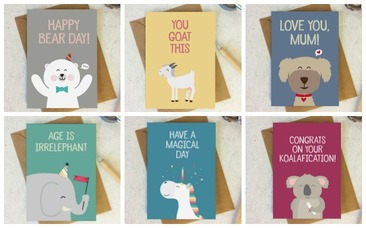 Wink Design Animal Cards