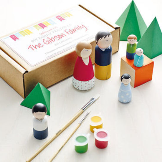 Personalised Family Peg Doll Kit
