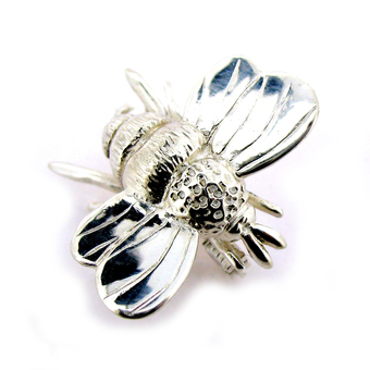 Silver bumble bee