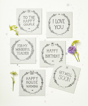 Rustic Greetings Cards