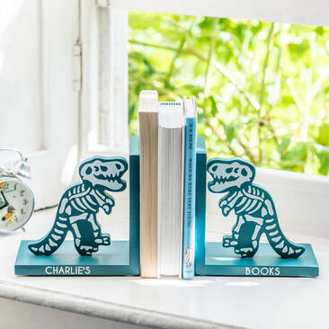 inosaur bookends