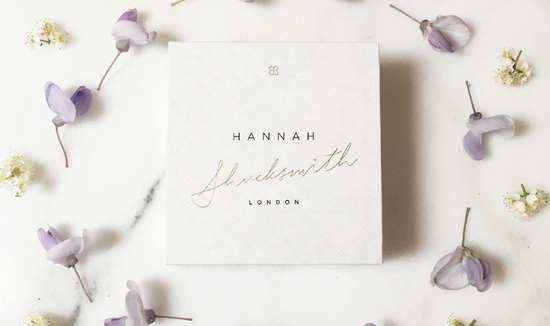 Hannah Shucksmith Jewellery and Packaging