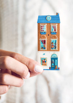 Miniature Paper House