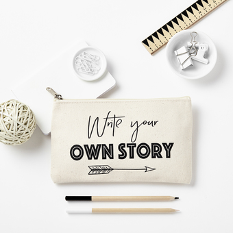 WRITE YOUR OWN STORY PENCILCASE