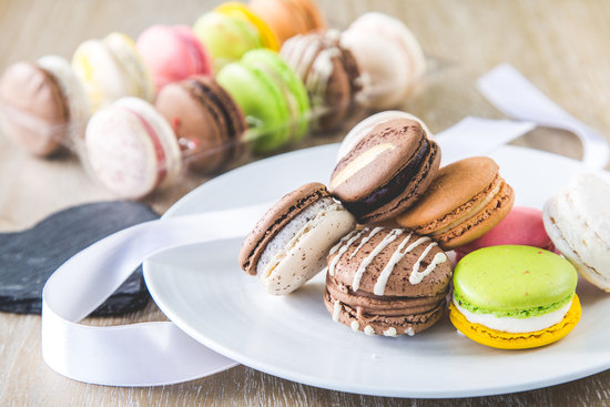 Macarons by L'orchidee