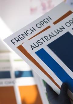 Grand Slam Posters French and Australian Open