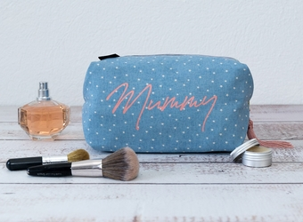 Personalised Wash Bag Mummy