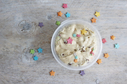 Unicorn cookie dough