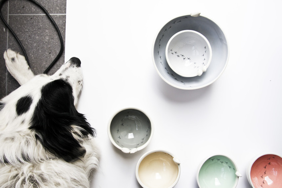 karoart dog friendly workplace handmade ceramic bowls