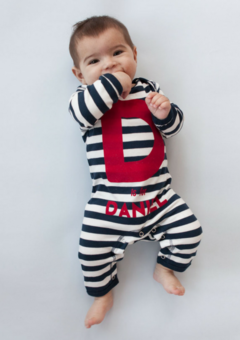 Percy and Nell best selling personalised romper
