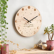 Personalised couples clock