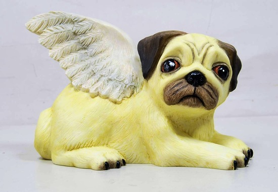 Flying Pug Moneybox