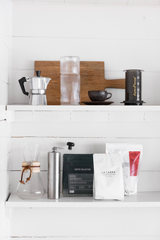 A GUSTATORY coffee subscription package improving the look of your home