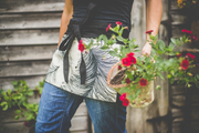 Garden apron - ideal for pottering in the garden