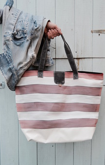 Oversize Tote from Deckchair Canvas