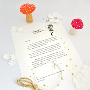 Unconventional personalised Tooth Fairy letters from super cool Tooth Fairies.  They live in a world of well-meaning dragons, Mystery Gardens...