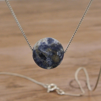 Delicate Sodalite Necklace