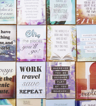 wanderlust travel teabags