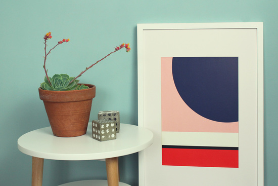 Retro Mid Century Moderns 1950s Prints