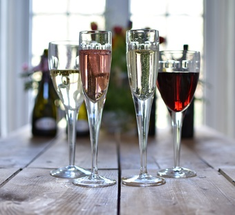 The SLIM Wine Family, Red, White, Sparkling, Pink Sparkling