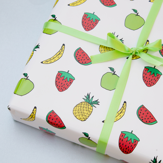paper planes gift wrap