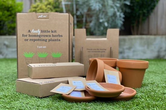 The Terracotta Herbs Growing Kit