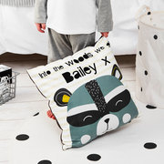 boys personalised wash bag