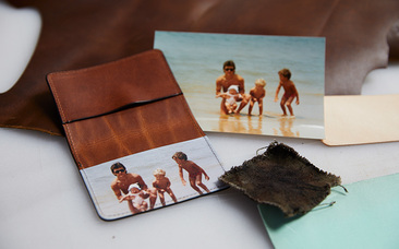 photo card wallet holder