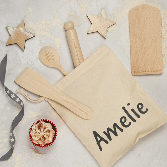 Personalised Kids Baking Set