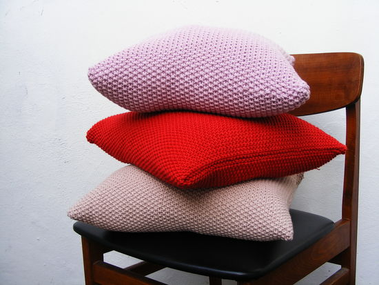 Stacked Cushions