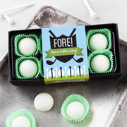 golf ball chocolates