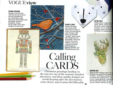 Vogue featuring Plantable Robin card