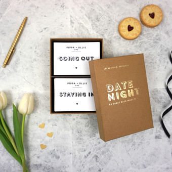 Jeeves & Co. Design Studio | Date Night Ideas Box