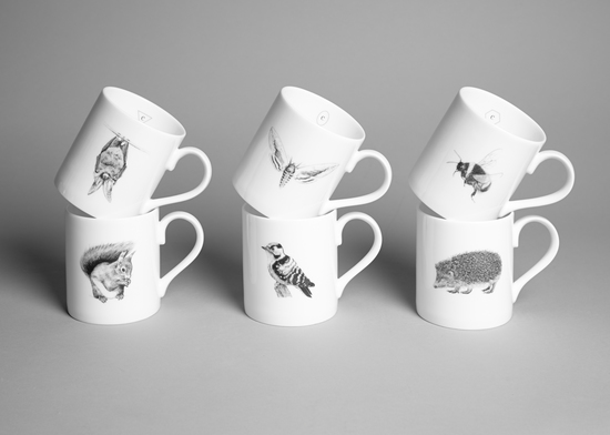 Creature Candy Wildlife Mugs