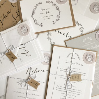 Pear Paper Co Wedding Stationery Samples