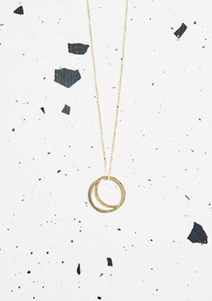 After dusk Gold Kind Jewellery Solar Hoops