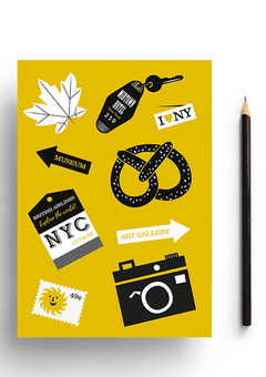 New York Travel Notebook