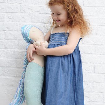 Cuddly Mermaid Toy
