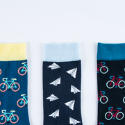 Fun, colourful cotton socks from MAiK London