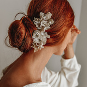 Rock N Rose Flower Hair Pin Headpiece