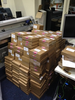 Orders ready to be dispatched
