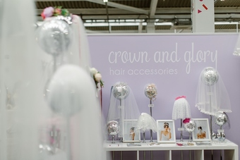 Out in the wild at Most Curious Wedding Fair