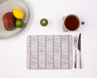 Scandinavian melamine placemat from MAiK London