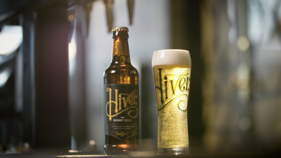 A crisp and refreshing blonde beer