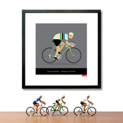 Personalised World Champion Cycling Print