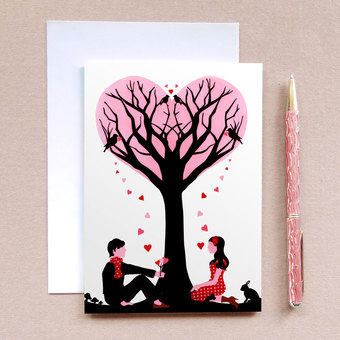 Tree of Love Card