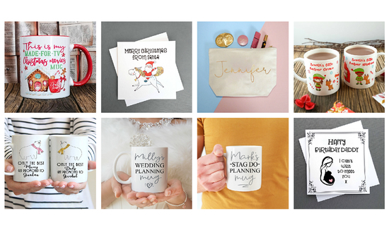 Personalised Gifts and Wedding Gifts